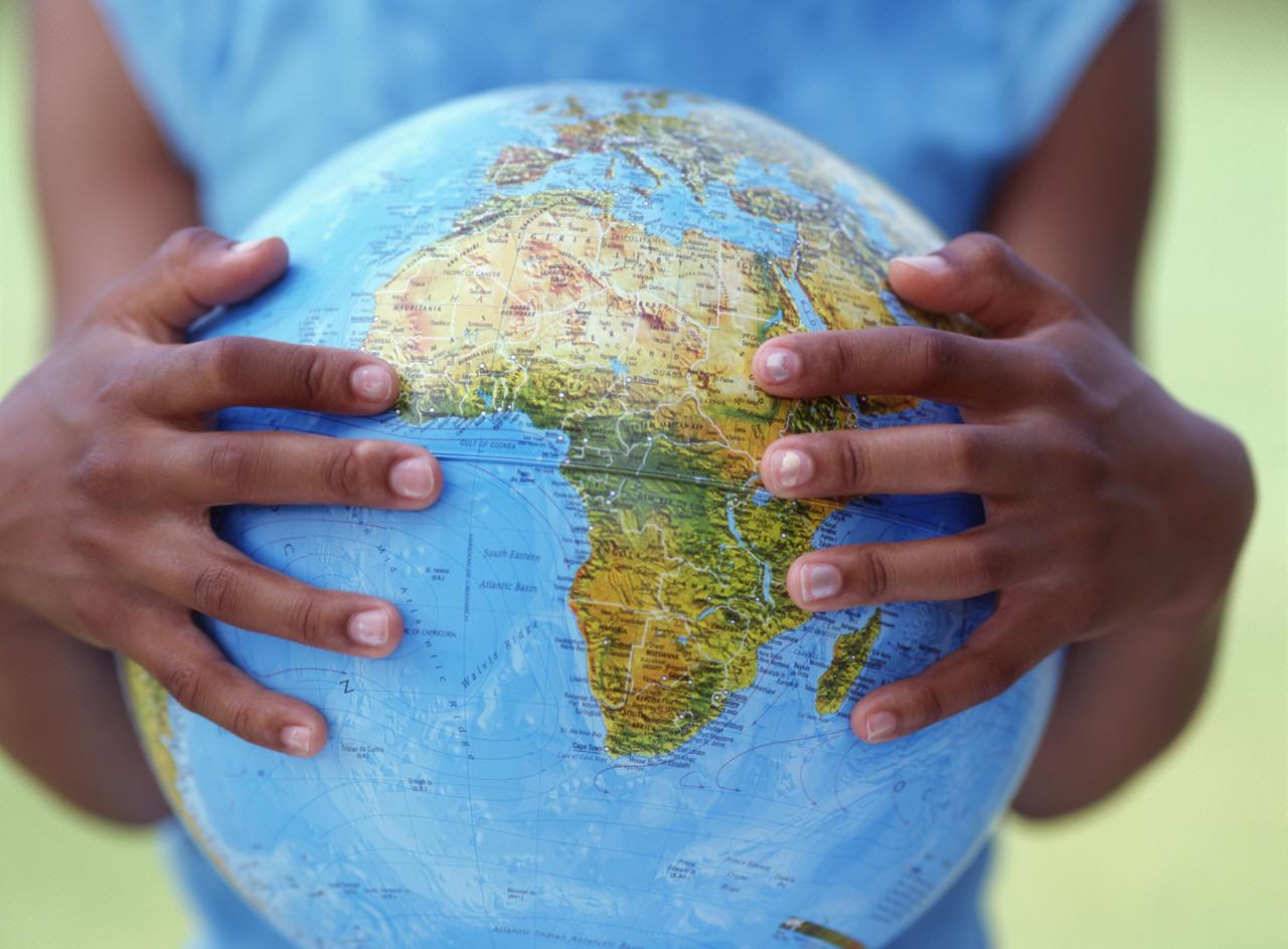 Africa-Globe