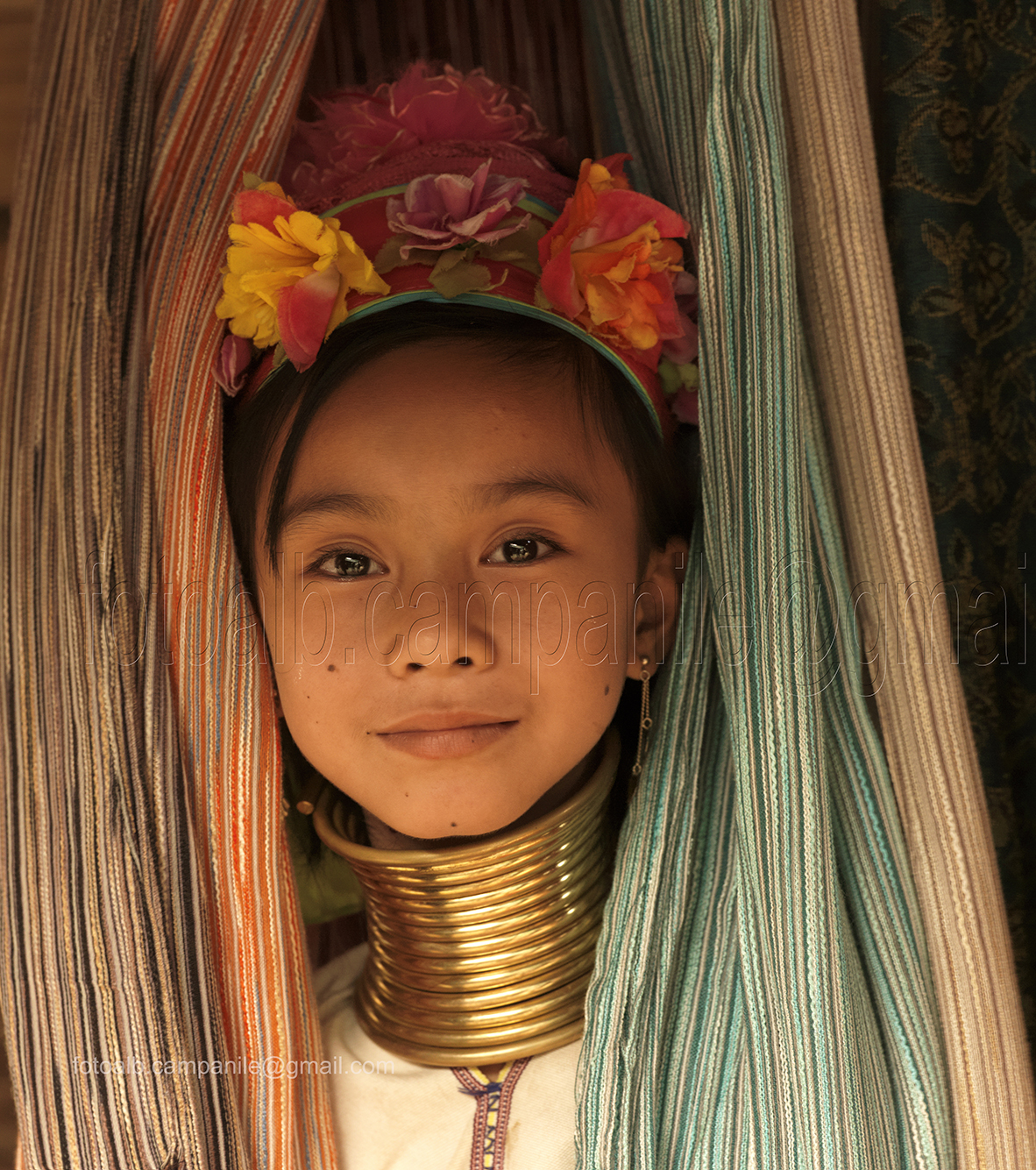 Woman with long necks, Ban Ya Pa village, Thailand