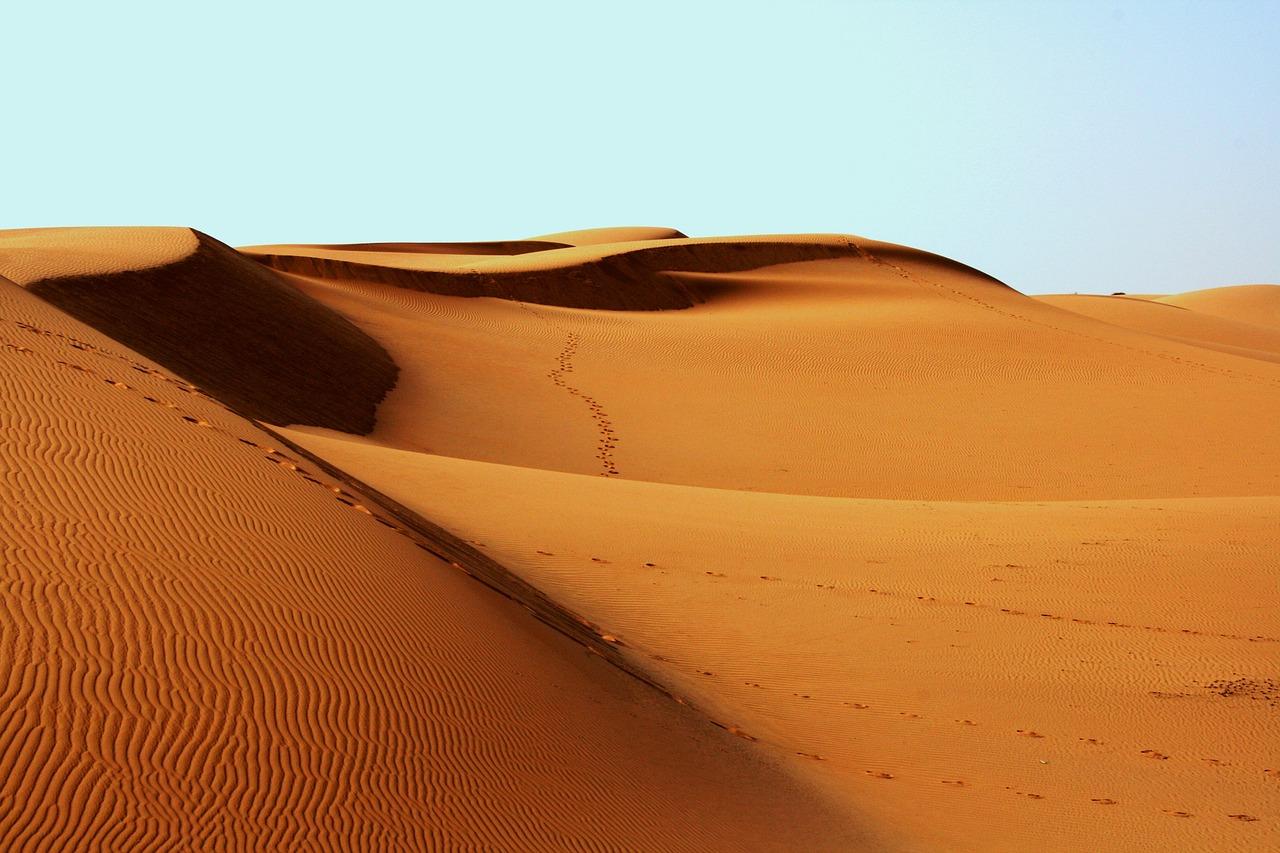 Pianoforte deserto Oman